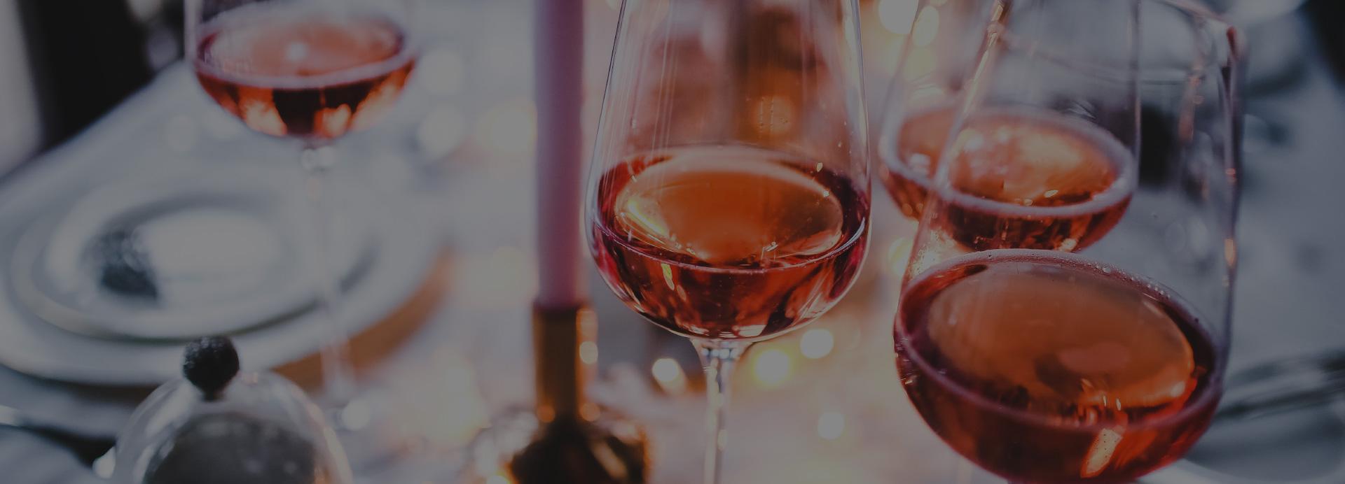 Wine glasses header